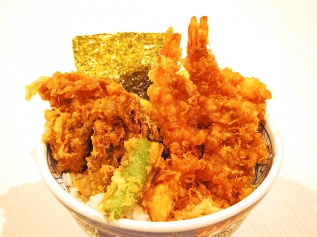 三笠正志とあきらが食べる天丼