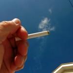 九条ちひろは喫煙者