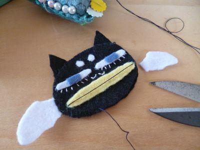 ムキ彦を縫う