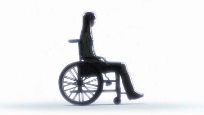 車椅子のあきら