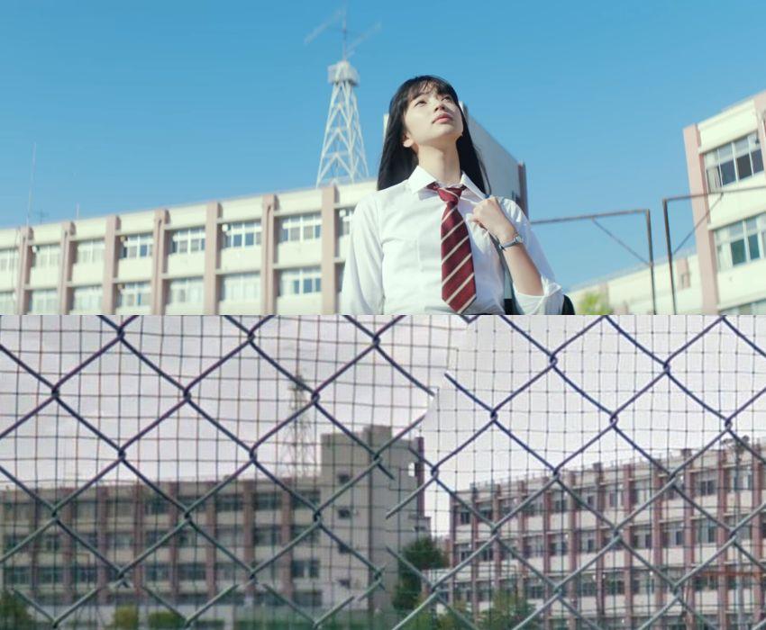 小松菜奈と大宮工業高等学校の様子