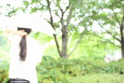 日傘をさすあきらのイメージ