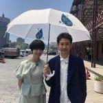 恋雨傘シェアプロジェクトの小松菜奈と大泉洋